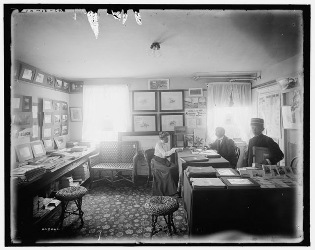 [Florida, Mr. Foster's office at Palm Beach]