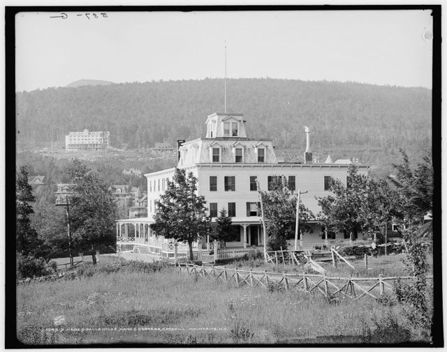 Haines Falls House, Haines Corners, Catskill Mountains, N.Y.