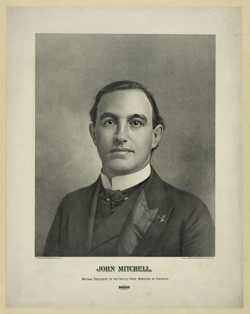 John Mitchell, national president of the United Mine Workers of America / The Henderson Lithographing Co., Cincinnati, O.