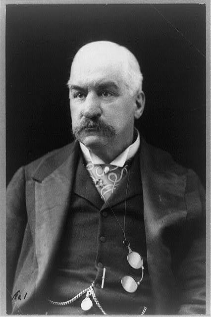 [John Pierpont Morgan, half-length portrait, facing front]