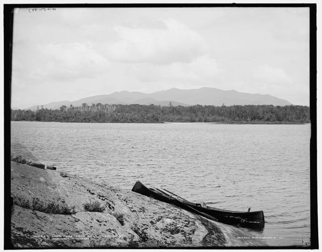 Long Lake from near Island House, Adirondack Mts., N.Y.