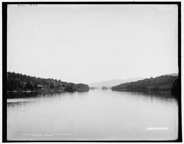 Long Lake from near the Sagamore, Adirondack Mountains