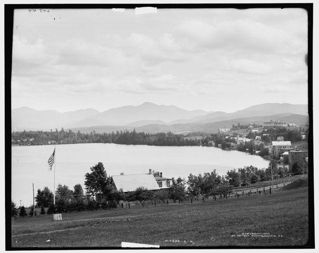 Mirror Lake, Adirondack Mountains