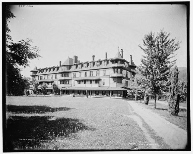 Mountain Park Hotel, Hot Springs, N.C.