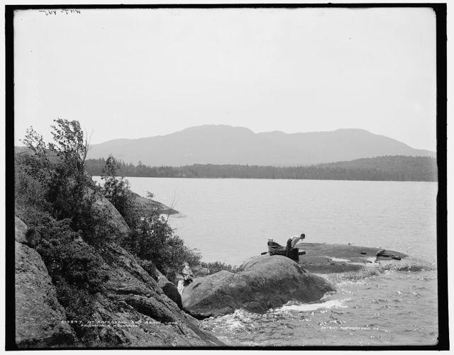 Mt. Ampersand and Round Lake, Adirondack Mountains