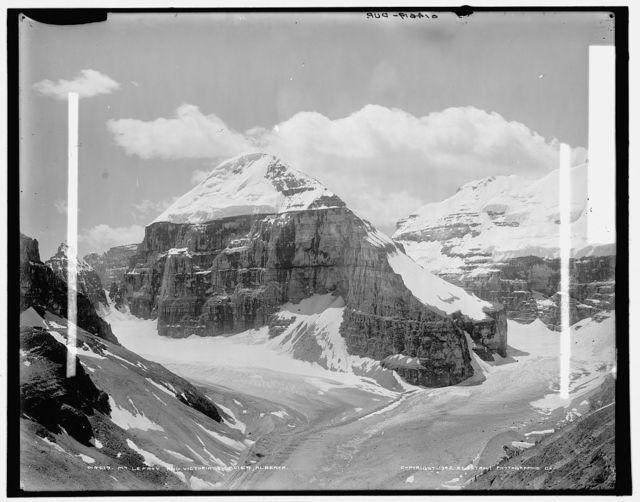 Mt. Lefroy and Victoria Glacier, Alberta