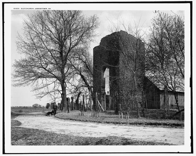 Old Church, Jamestown, Va.