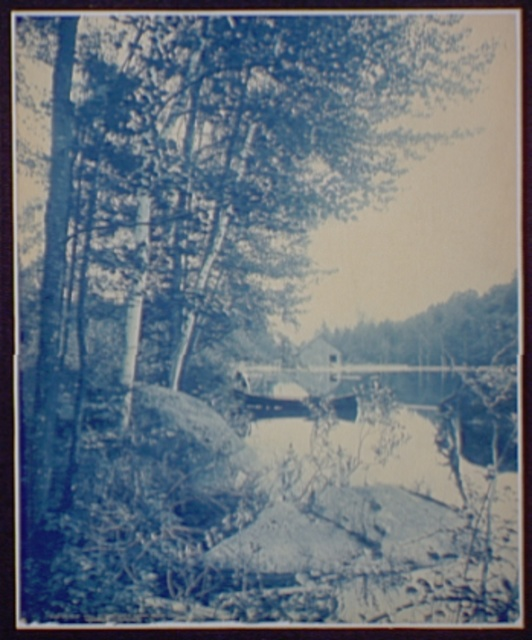 Old Mill at Bartlett's Carry, Round Lake, Adirondack Mountains