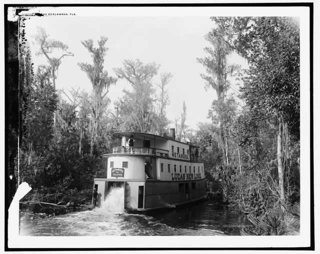 [On] the Ocklawaha [sic], Florida