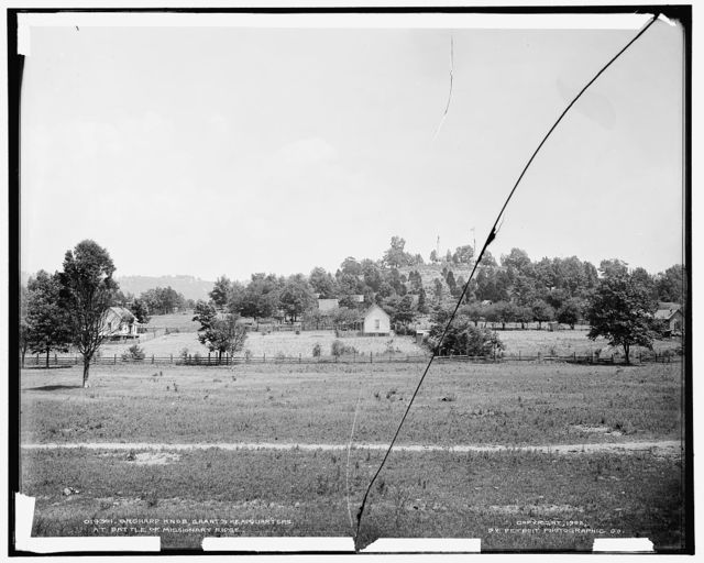 Orchard Knob, Grant's headquarters at battle of Missionary Ridge