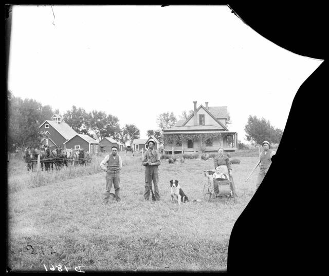 P.A. Bebbs farm on the Wood River near Kearney, Nebraska.