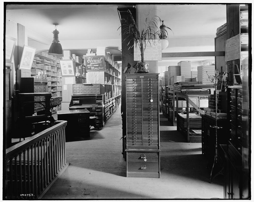[Paper stock, Richmond & Backus Co., Detroit, Mich.]