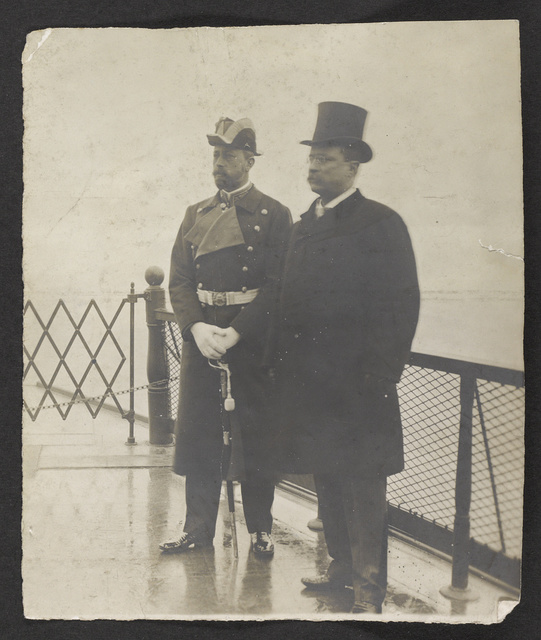 Prince Henry of Prussia and President Roosevelt