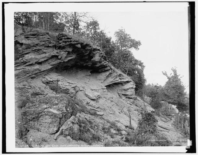 Prophet's Rock Ridge near Tippecanoe battleground, Ind.