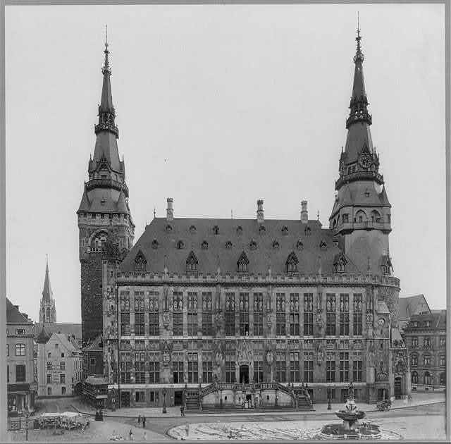 Rathaus (Town Hall), Aachen (Aix-la-Chapelle), Germany