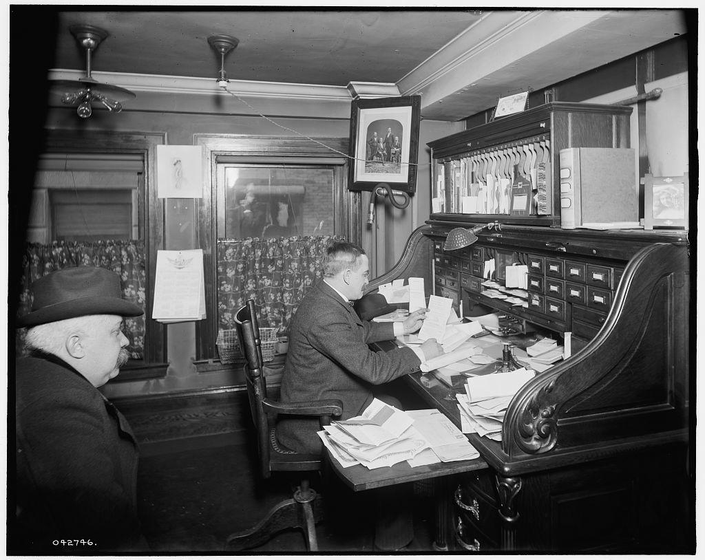 [Richmond & Backus Co. office, Detroit, Mich.]