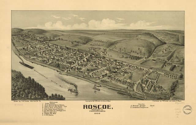 Roscoe, Washington Co., Pennsylvania 1902.