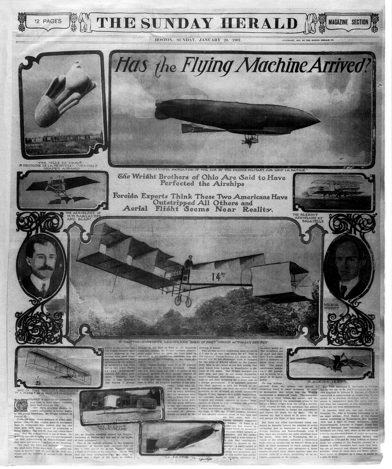 Scrapbooks: January 1902-December 1908