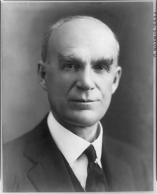 [Simeon D. Fess, bust portrait]