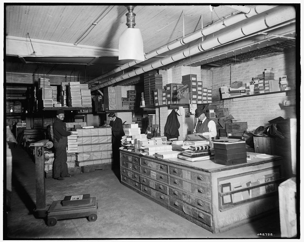 [Stock basement, Richmond & Backus Co., Detroit, Mich.]