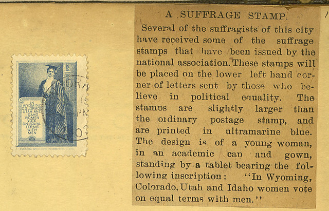 Suffrage stamp