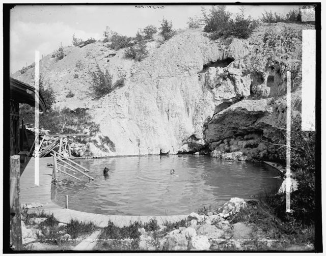 The Basin, lower spring, Banff, Alberta
