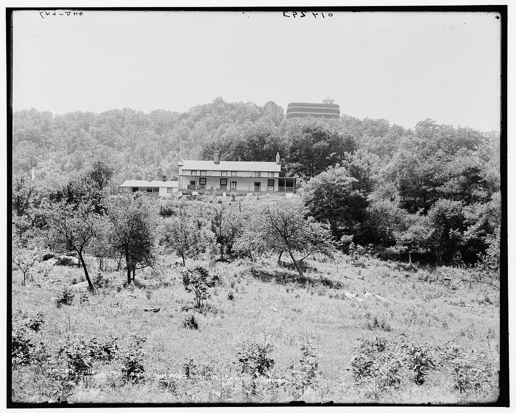 The Craven House and Point Lookout, Lookout Mountain