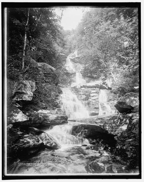 The Five cascades, Haines Falls, Catskill Mountains, N.Y.