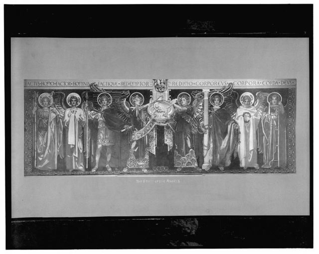 The frieze of the angels
