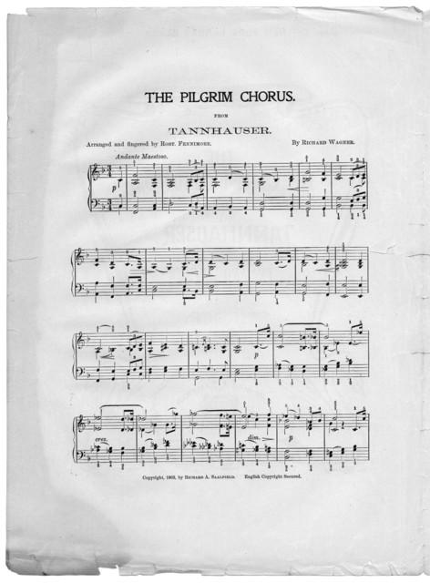 The  pilgrim chorus from Tannhauser