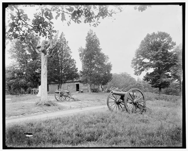 [The Snodgrass House, Thomas' Headquarters, Chickamauga, Tenn. [i.e. Ga.]]