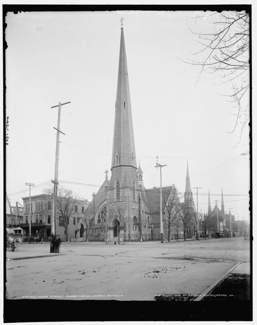 Third Street Presbyterian Church, Dayton, O[hio]