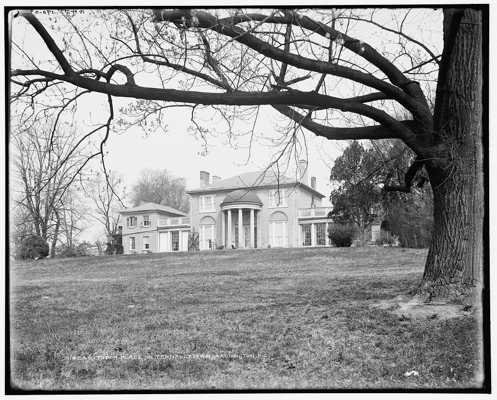 Tudor Place in Tennallytown [sic], Washington, D.C.
