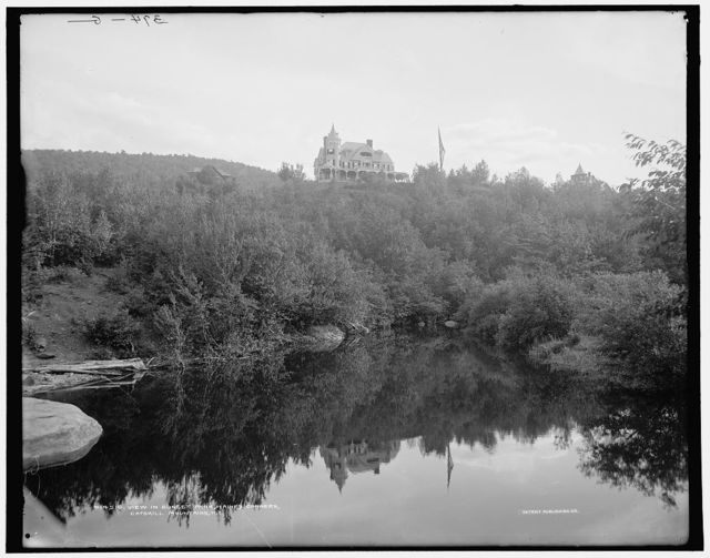 View in Sunset Park, Haines Corners, Catskill Mountains, N.Y.