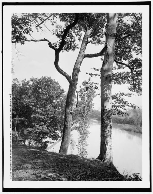 Wabash River from Tecumseh's Trail, Tippecanoe battleground, Ind.