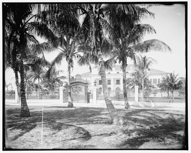 Whitehall, the residence of Mr. Flagler at Palm Beach, Florida
