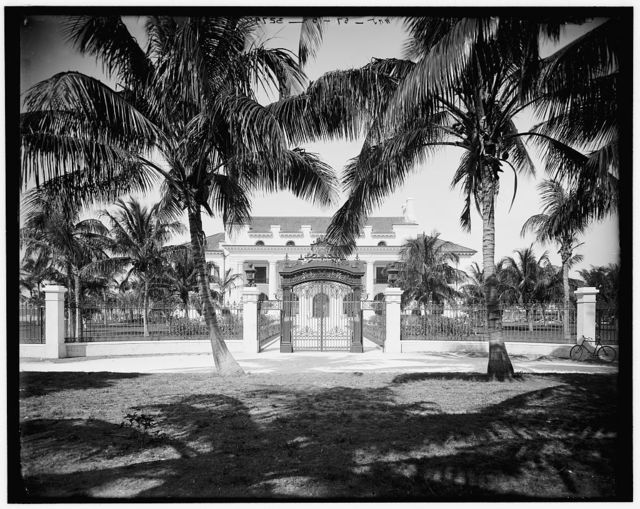 [Whitehall, the residence of Mr. Flagler, Palm Beach, Fla.]
