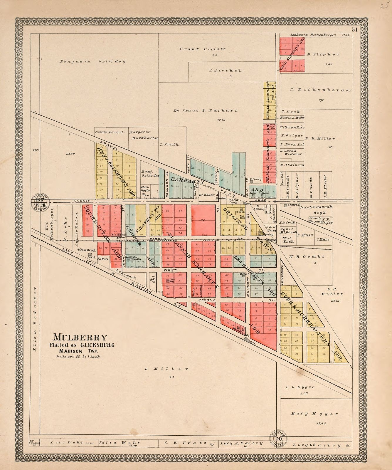 20th century atlas of Clinton County, Indiana : containing maps of on indiana road map with cities, indiana map with scale, printable map of indiana with cities, indiana state city map rivers, indiana counties, indiana state map reservoirs, indiana county map,