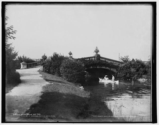 A Bridge, Belle Isle Park
