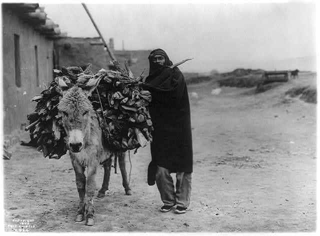 A load of fuel--Zuni