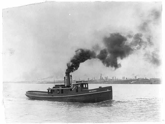 A tug boat - Joe Harris