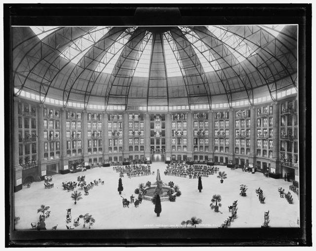 [Atrium, West Baden Springs Hotel, West Baden, Ind.]