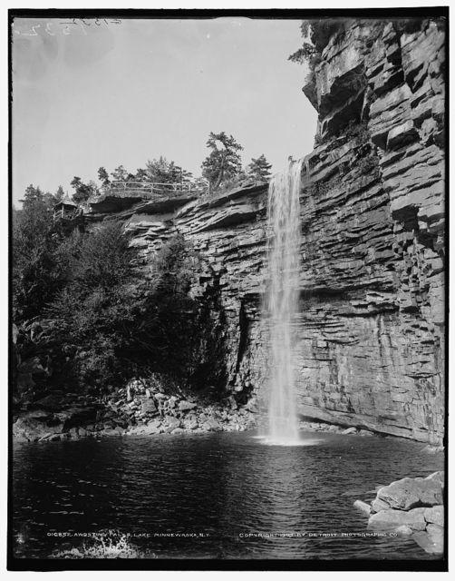 Awosting Falls, Lake Minnewaska, N.Y.