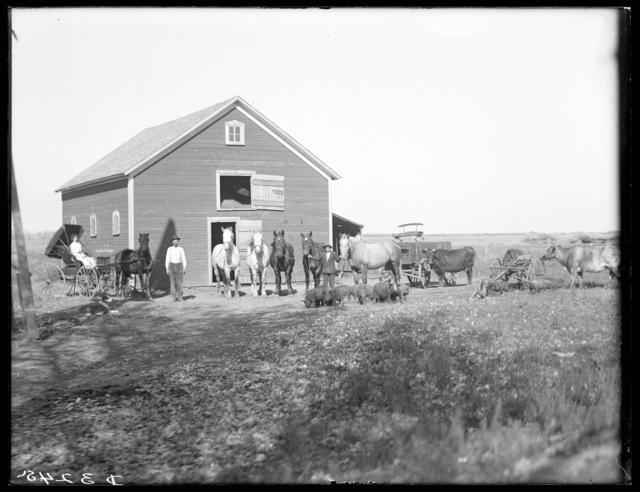 barn northeast of Gibbon, Buffalo County, Nebraska