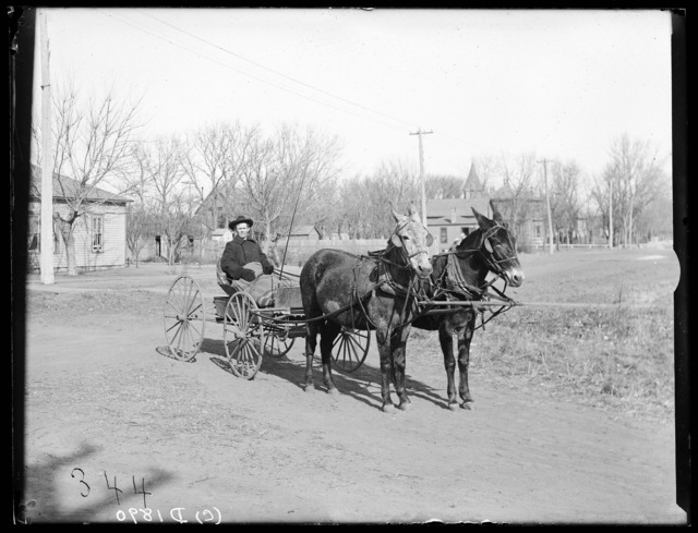 Barn on the W.G. Fredrick Ranch, Kearney, Nebraska