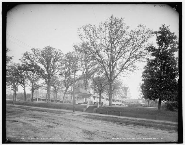 Bon Air Hotel, Summerville, [i.e. Augusta] Ga.