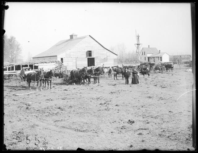 Borty Brennan, Elm Creek, Buffalo County, Nebraska.