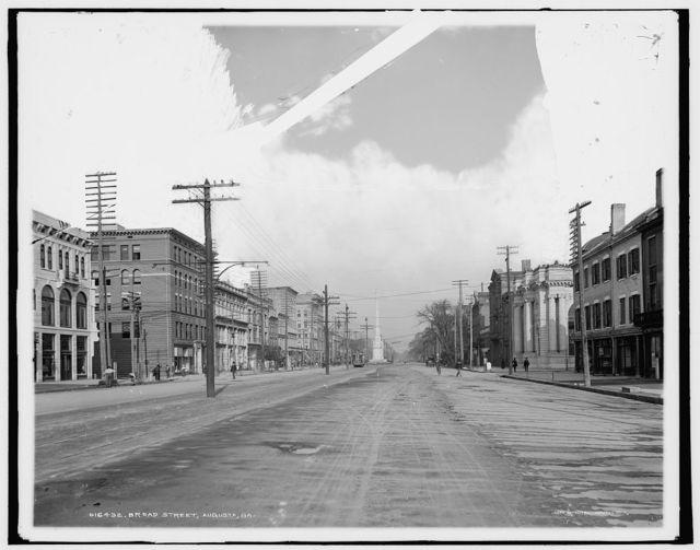 Broad Street, Augusta, Ga.