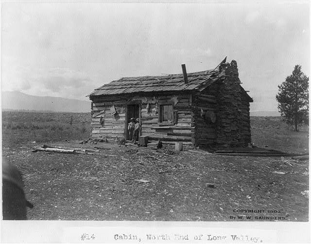 [Cabin, north end of Long Valley]