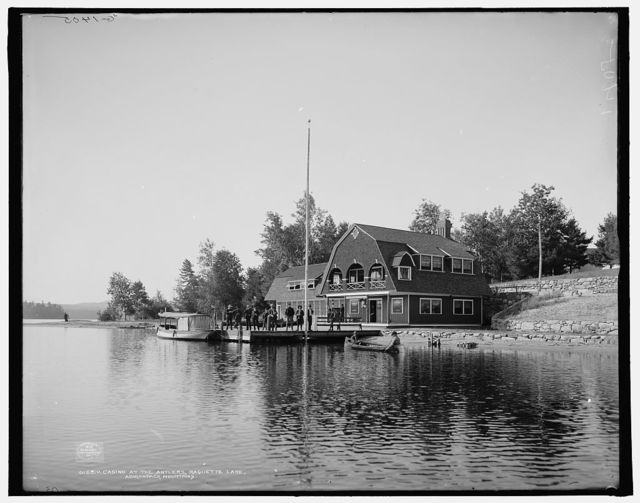 Casino at the Antlers, Raquette Lake, Adirondack Mountains